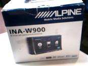 ALPINE ELECTRONICS Car Video INA-W900